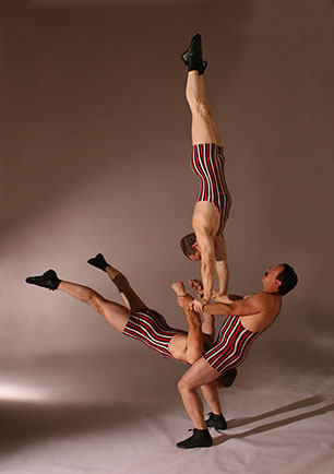 The Acro-Chaps - Trio Acrobatics - Manhattan