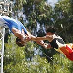 Above and Beyond - Flying Trapeze - Splits Catch