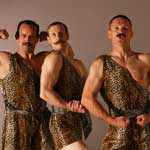 The Acro-Chaps - Circus Strongmen - Group shot