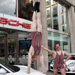 The Acro-Chaps - Victorian Strongmen - My New Car