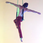 James Frith - Solo Trapeze - Sitting Crucifix